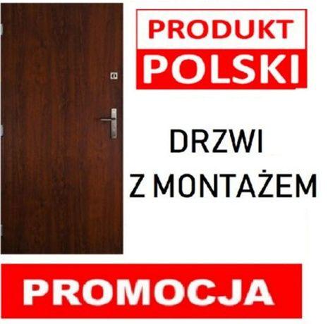 drzwi wejściowe sosnowiec
