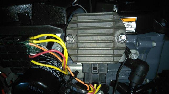 Silnik zaburtowy Yamaha , Mercury, Suzuki. Ładowanie akumulatora 12v
