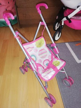 Wózek spacerówka dla lalek parasolka