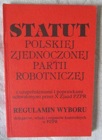 Statut PZPR