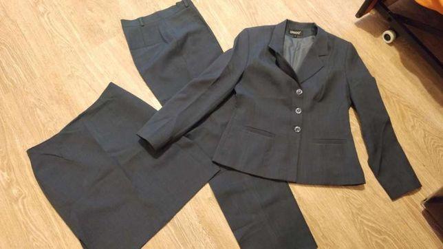 Trzy częściowy zestaw firmy DANKAZ roz. 40 Spódnica, Spodnie, Marynark