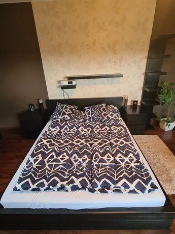 Komplet mebli do sypialni, łóżko,szafki i komódki