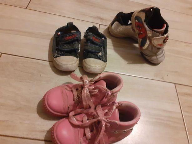 Buty dziewczece uzywane