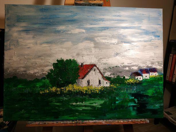 Obraz olejny 70x50 na płótnie