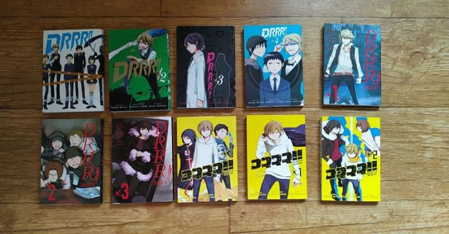 DRRR - manga 1 - 4, 1 - 3, 1 - 3