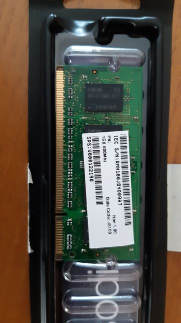 RAM Laptop 1gb 2rx16 pc2-6400s-666 ddr2