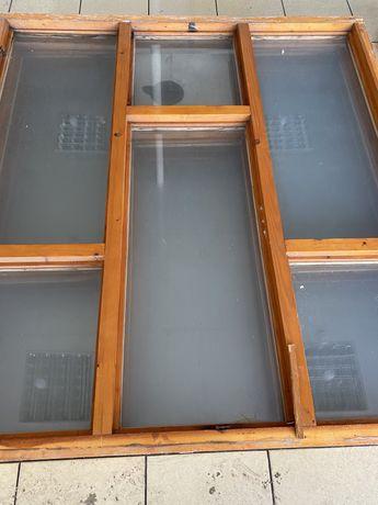 Деревянные окна сосна 168*158 см.