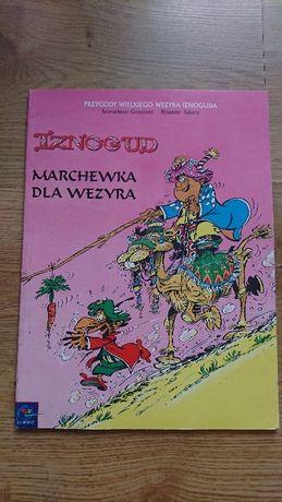 Komiks pt Iznogud Marchewka dla Wezyra tom 7