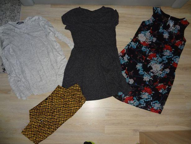 Zestaw spódnica sukienki sweter r.34-36