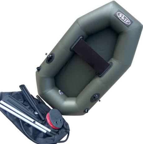 Надувная одноместная Лодка SKIF 190 Армированный ПВХ