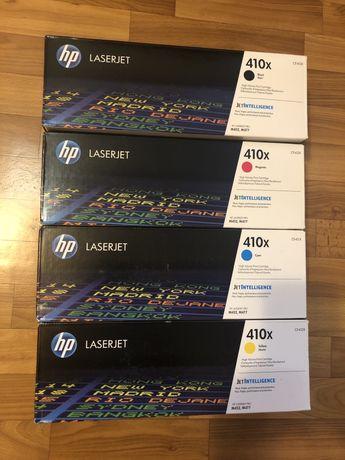 Картридж лазерный HP 410X (набор CF410X, CF411X, CF412X, CF413X)