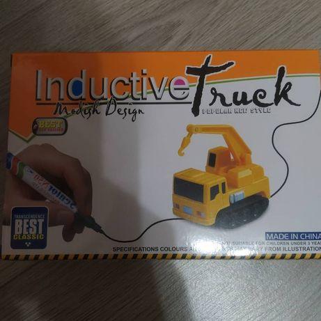 Индуктивная машинка игрушка inductive track