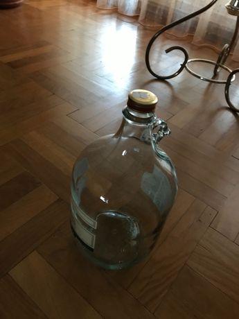 BALON dymion galon balon gąsior butelka  na wino bimber 5L