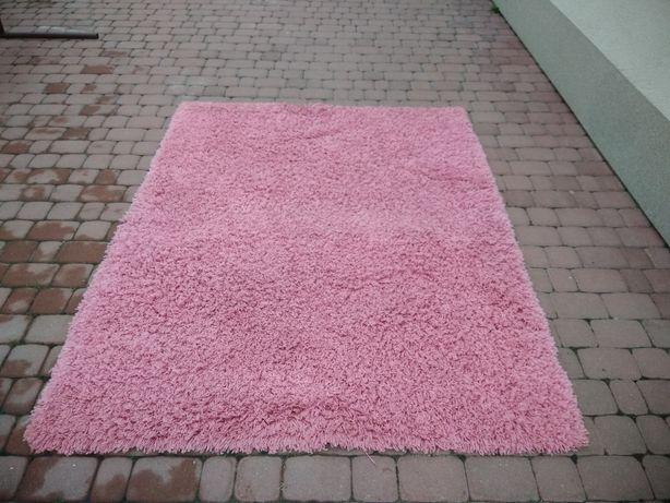 => Dywan Shaggy włochacz różowy 150x190
