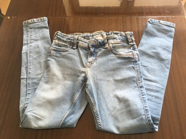 dwie pary jeansów rozmiar 152 za 7zł!!!