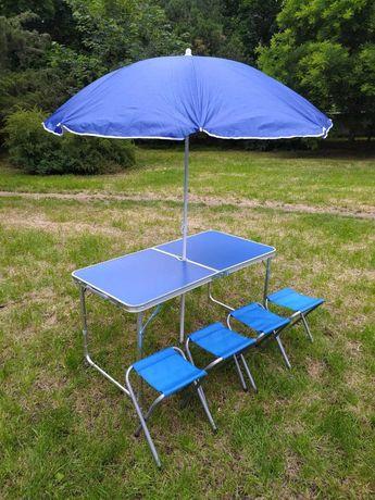 Стол раскладной для пикника  со стульями и зон Стіл розкладний
