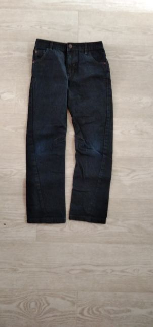 Джинсы синие 7-8 лет (122-128)