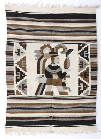 Tapeçaria Azteca /Inca. tapete de parede