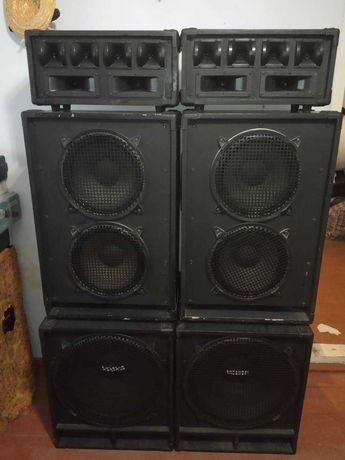 Колонки звукові  трохполосні 500Х200Х50Вт