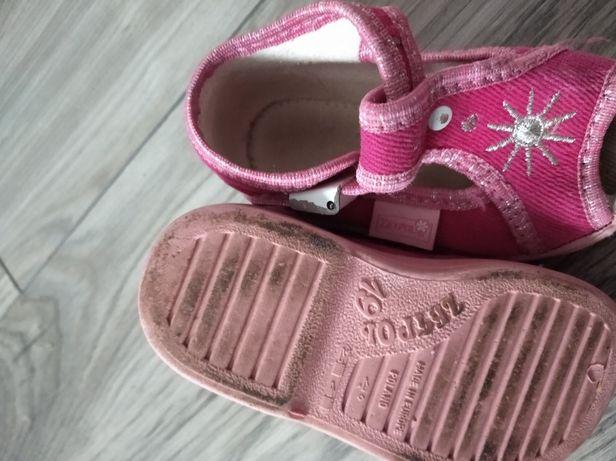 Buciki dla dziewczynki roz.19