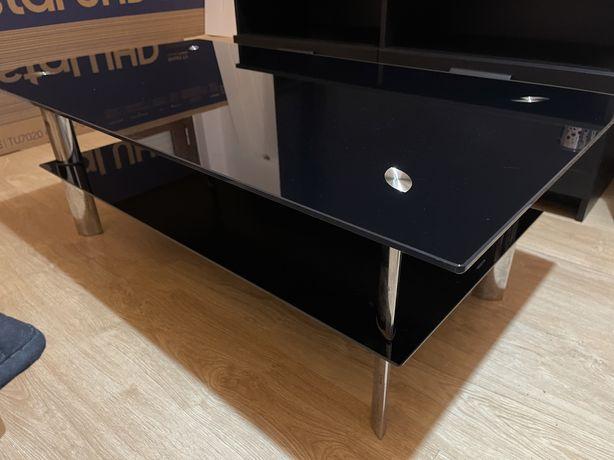 Mesa de Centro / Apoio - Vidro temperado