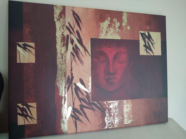 Obraz Budda nadruk na płótnie 80x90cm