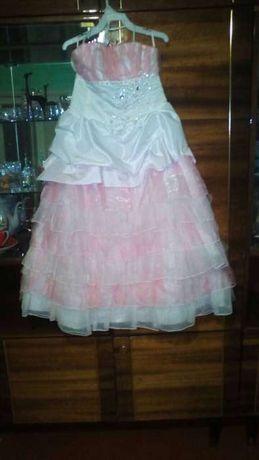 Платье выпускное подростковое