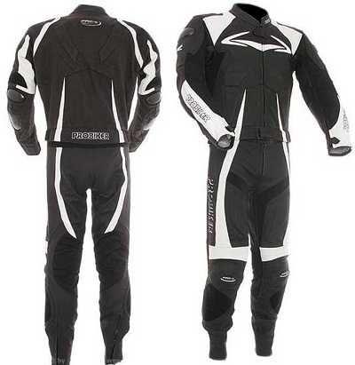Skóra, kombinezon motocyklowy spodnie + kurtka - ProBiker PRX-4 roz 50