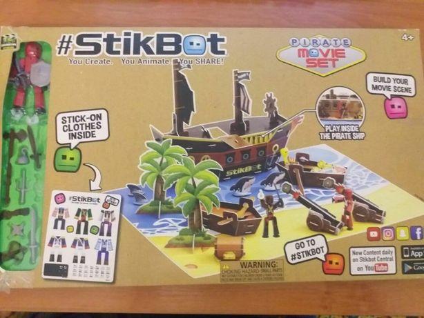 """Стикбот ,детская видеостудия """"Пиратский корабль"""""""