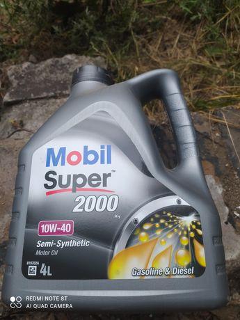Olej silnikowy Mobil