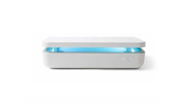 Samsung - Esterilizador UV com carregamento sem fios