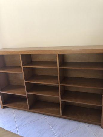 Movel com estantes para livros 1.8mx1.1m