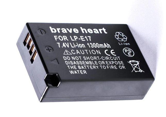 Bateria Brave Heart LP-E17 para Canon