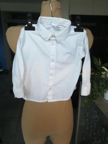 R. 86 92 George biała koszula dla chłopca