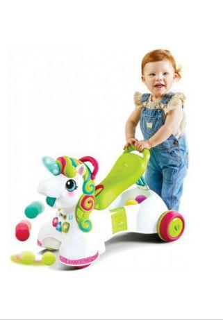 Развивающая игрушка Infantino Мой единорог 3 в 1  Ходунки толокар