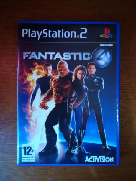 Jogo PS2 - Fantastic 4
