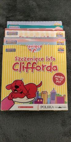 szczenięce lata Clifforda - płyty