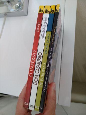 Lote de 4 livros
