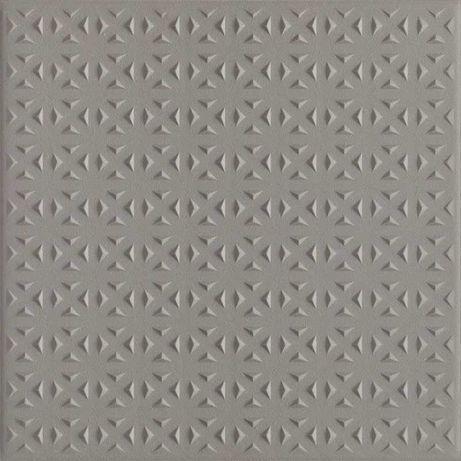 Płytka ścienna Bazo Grys Gres Monokolor Struktura  19.8 x 19.8 cm