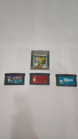 5 jogos Game Boy Advance SP + Bolsa