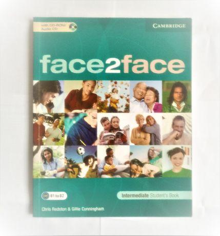 Face2Face Cambridge angielski podręcznik i ćwiczenia Intermediate nowe
