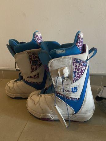 Buty z wiazaniami BURTON r.34