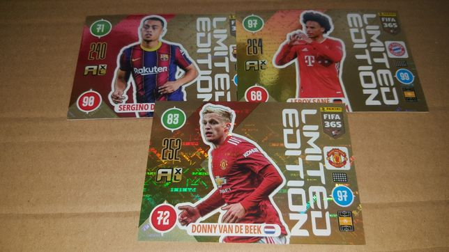 Panini Fifa 365 Updet 2021 Limited Edition