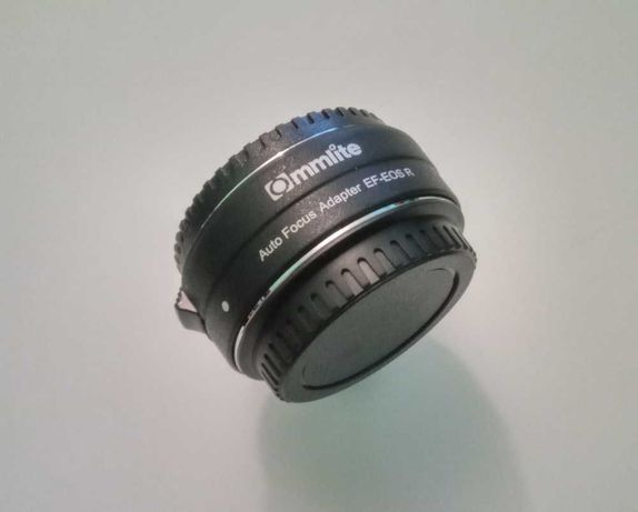 Adapter Commlite EF, EF-S Canon EOS - RF Canon R RP Autofocus AF nowy