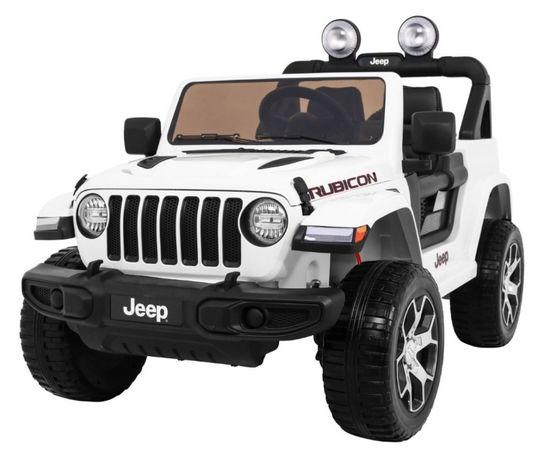 Samochód Jeep Wrangler 4x4 na akumulator dla dzieci