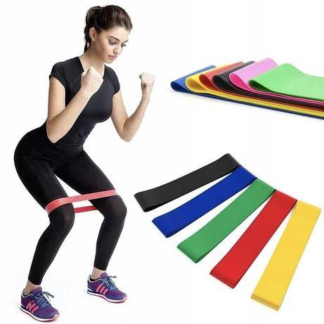 Фитнес резинки для спорта 5шт