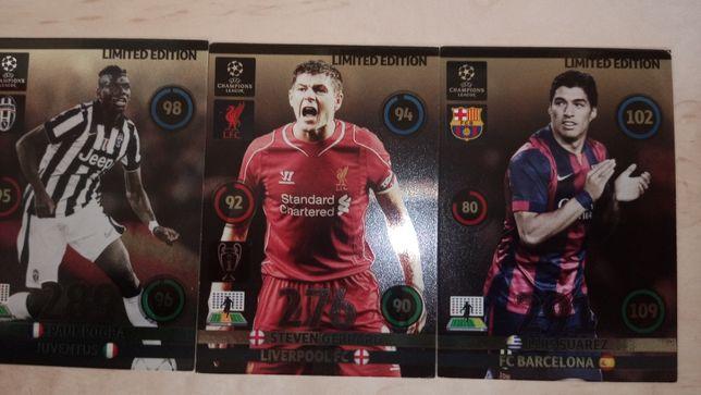 Karty piłkarskie 2014/15