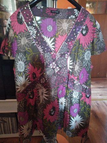 Piękna bluzka tunika na lato 50 52