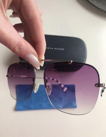 Oryginalne okulary przeciwsłoneczne Tommy Hilfiger