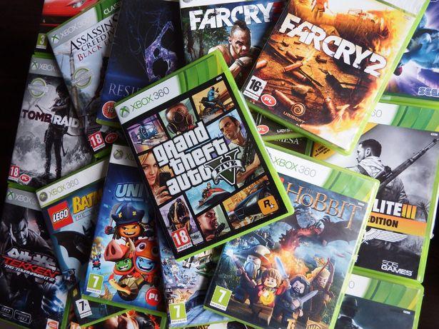 XBOX 360 GTA 5 PL oraz inne gry xbox 360 największe hity XBOX 360